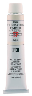 Holbein Artists Oil 110ml Foundation Umber H535