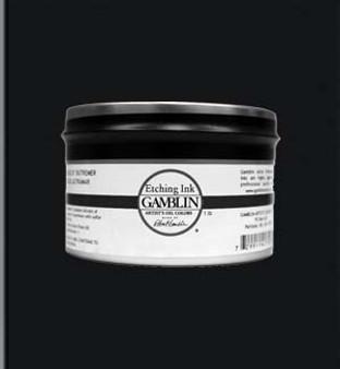 Gamblin Etching Ink 1lb Stiff Portland Black