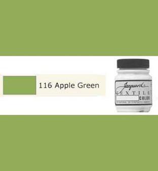 Jacquard Textile Paint 70ml Apple Green