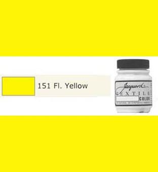 Jacquard Textile Paint 70ml Fluorescent Yellow