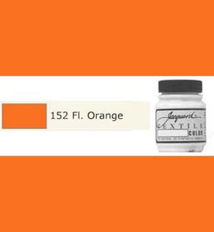 Jacquard Textile Paint 70ml Fluorescent Orange
