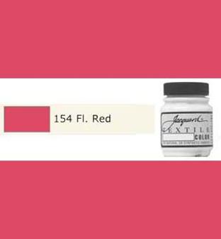 Jacquard Textile Paint 70ml Fluorescent Red