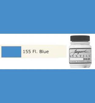Jacquard Textile Paint 70ml Fluorescent Blue