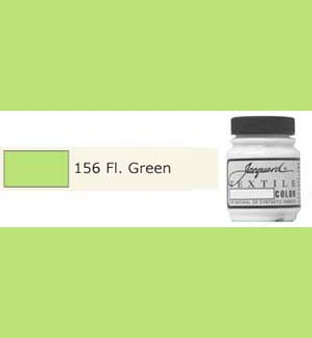 Jacquard Textile Paint 70ml Fluorescent Green