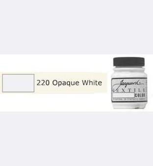 Jacquard Textile Paint 70ml Opaque White