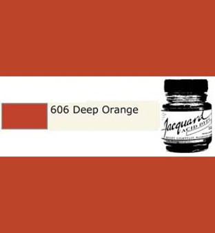 Jacquard Acid Dye 1/2oz Deep Orange