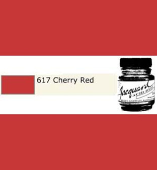 Jacquard Acid Dye 1/2oz Cherry Red