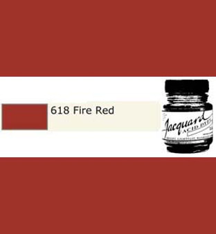 Jacquard Acid Dye 1/2oz Fire Red