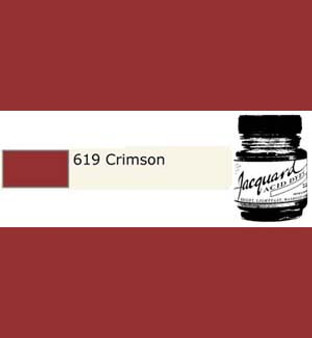 Jacquard Acid Dye 1/2oz Crimson
