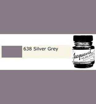Jacquard Acid Dye 1/2oz Silver Gray