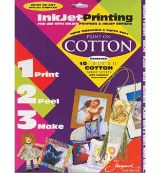 Jacquard Inkjet Fabric Cotton 10pk