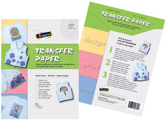 Jacquard Transfer Paper 3pk Light Cloth