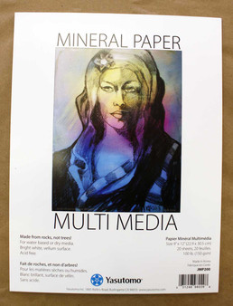 Yasutomo Mineral Paper Multi-Media pad 9x12