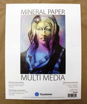 Yasutomo Mineral Paper Multi-Media pad 11x14