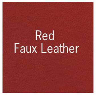 "Books by Hand Book Covering 18x19"" Sheet Red Faux Leather"