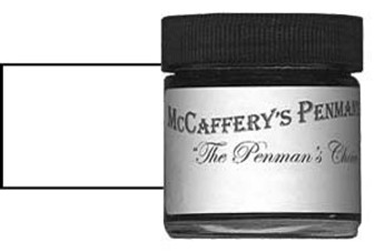 McCafferys Penmans Ink 1oz Ivory White