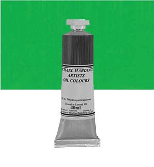 Michael Harding Artist Oil Colour 40ml Bright Green Lake