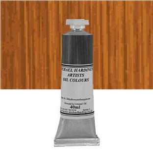 Michael Harding Artist Oil Colour 40ml Raw Sienna