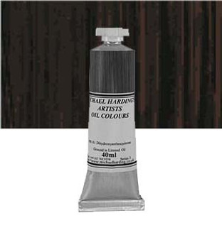 Michael Harding Artist Oil Colour 40ml Burnt Umber