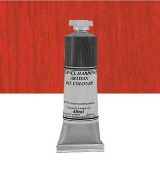 Michael Harding Artist Oil Colour 40ml Alizarin Crimson