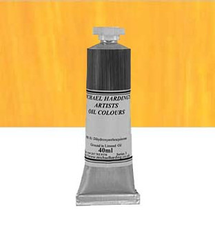 Michael Harding Artist Oil Colour 40ml Cadmium Gold Yellow