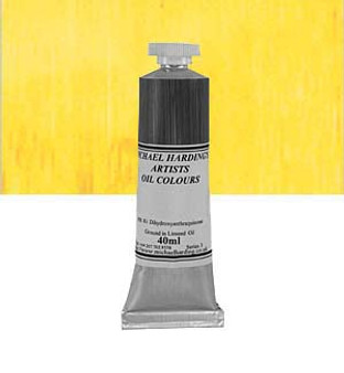 Michael Harding Artist Oil Colour 40ml Aureolin
