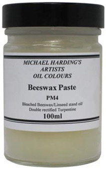 Michael Harding Medium: Beeswax Paste 100ml - Domestic U.S. Shipping Only