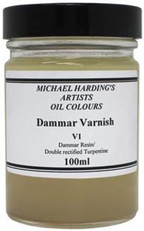 Michael Harding Varnish: Dammar 100ml - Domestic U.S. Shipping Only