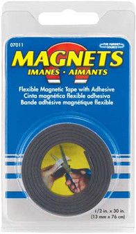 "Flexible Magnetic Tape Roll 1/2"" x 30"""