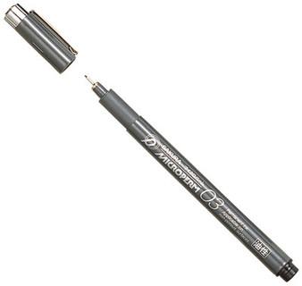 Sakura MicroPerm Pen 0.35mm Black