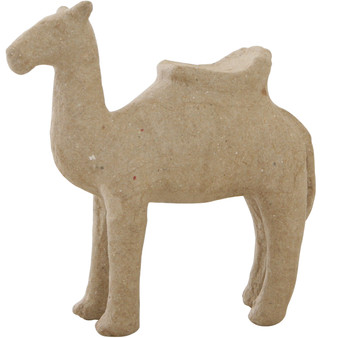 """Paper Mache Camel with Saddle 5x5"""""""