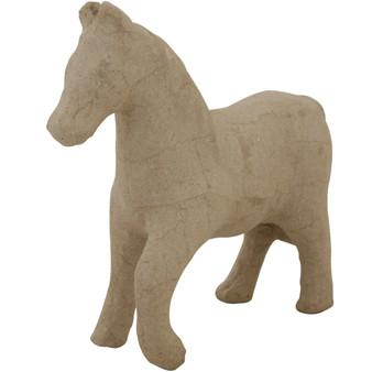 "Paper Mache Horse - Style #2 8.25x7"""