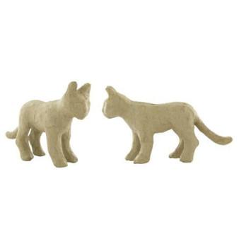 """Paper Mache Cat 6x3.5"""""""