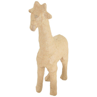 """Paper Mache Giraffe 4x6"""""""