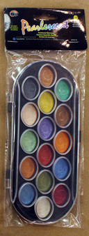 Yasutomo Niji Pearlescent Watercolor Set of 16