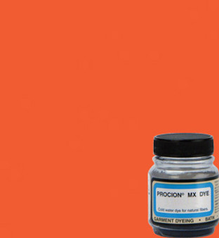 Jacquard Procion MX 2/3oz Brilliant Orange