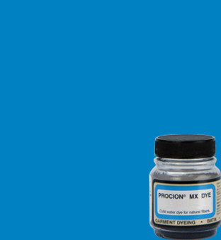 Jacquard Procion MX 2/3oz Bright Blue