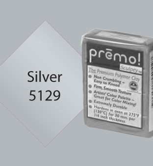 Premo Sculpey 2 Oz Silver