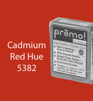 Premo Sculpey 2 Oz Cadmium Red Hue