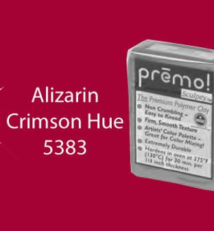 Premo Sculpey 2 Oz Alizarin Crimson