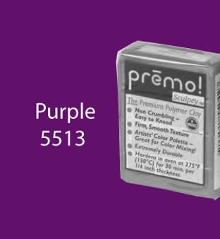 Premo Sculpey 2 Oz Purple