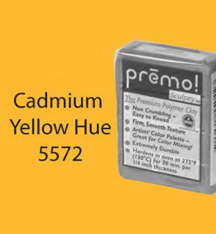 Premo Sculpey 2 Oz Cadmium Yellow Hue