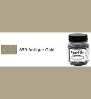 Jacquard Pearl-Ex 0.75oz Antique Gold 659