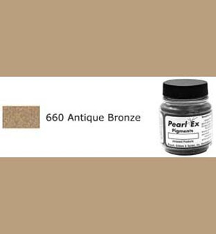 Jacquard Pearl-Ex 0.75oz Antique Bronze 660