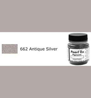 Jacquard Pearl-Ex 0.75oz Antique Silver 662