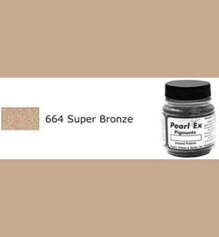 Jacquard Pearl-Ex 0.75oz Super Bronze 664