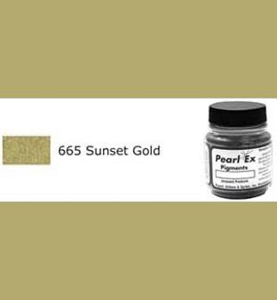 Jacquard Pearl-Ex 0.75oz Sunset Gold 665