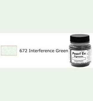 Jacquard Pearl-Ex 0.75oz Interference Green 672