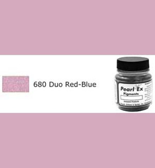 Jacquard Pearl-Ex 0.75oz Duo Red Blue 680