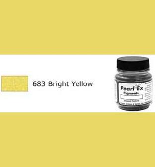 Jacquard Pearl-Ex 0.75oz Bright Yellow 683